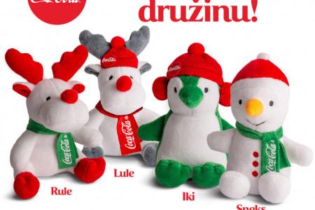 Sakupi čepove i uživaj uz Coca-Cola novogodišnju družinu