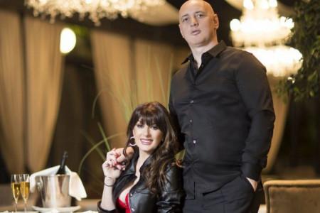 NIKAD VIĐENA FOTOGRAFIJA: Ovako su Viki Miljković i Taške izgledali pre venčanja (FOTO)
