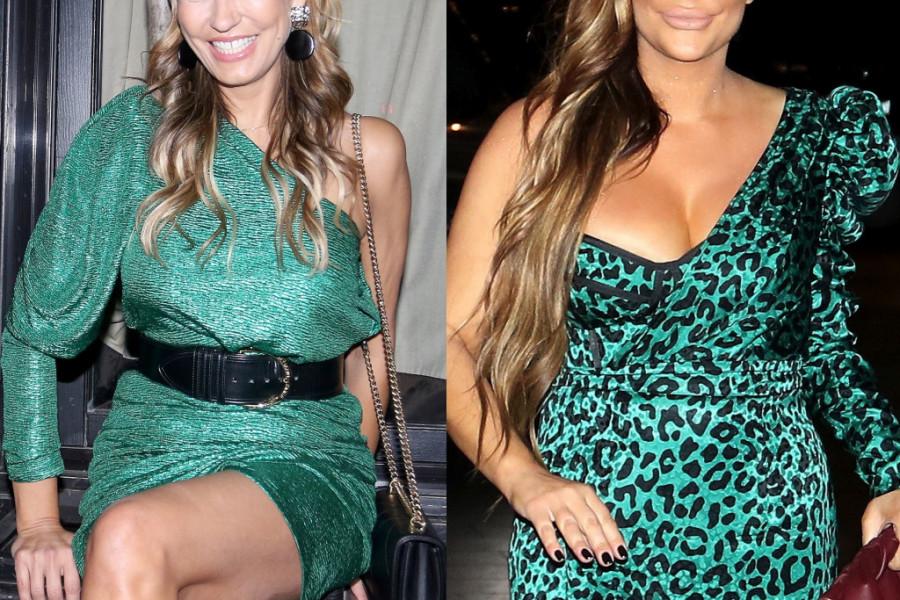 Modni okršaj Ane Nikolić i Marijane Mateus: Glasajte kojoj bolje stoji ova seksi haljina (foto)