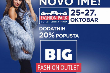 Slavimo novo ime! BIG Fashion Outlet Inđija