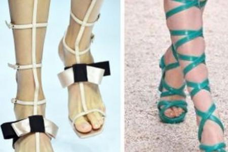 Letnja modna zapovest - GLADIJATORKE (foto)