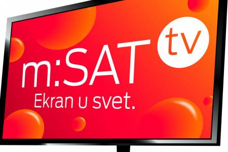m:SAT tv - NAJBOLJA TELEVIZIJA ZA SELA I VIKEND NASELJA