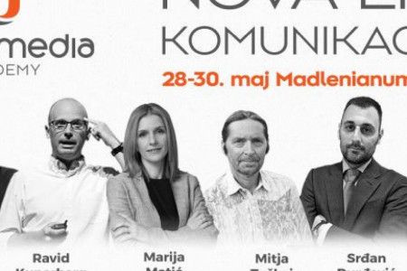 Na desetoj Direct Media Akademiji, od 28. do 30. maja u Madlenijanumu, počinje: NOVA ERA KOMUNIKACIJA!