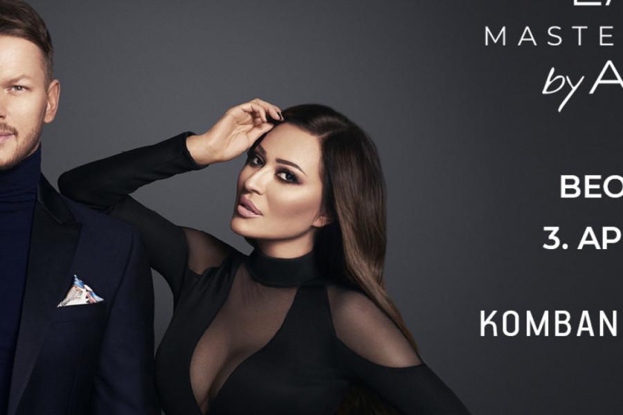 Prvi beogradski Master Class Dušana Lazića: Ceca Ražnatović PRVI PUT kao model