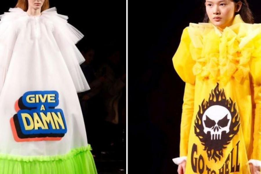 """SPEKTAKULARNE """"life quote"""" HALJINE modnog dvojca Horstinga i Rolfa: Koja je vaša? (foto)"""
