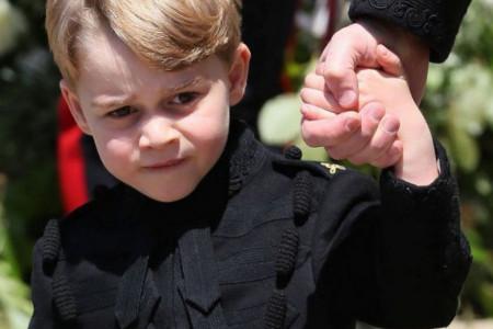 Napunio sedam i sada je sve jasno: Na kog muškarca liči princ Džordž, a nije tata Vilijam?