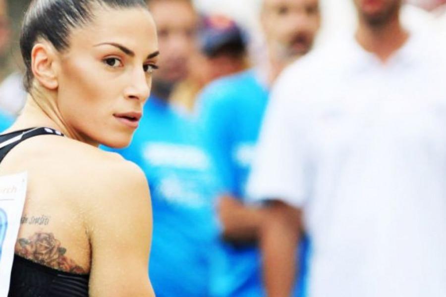 Ivana Španović je kraljica borbenosti: Nema stajanja ni kad boli!