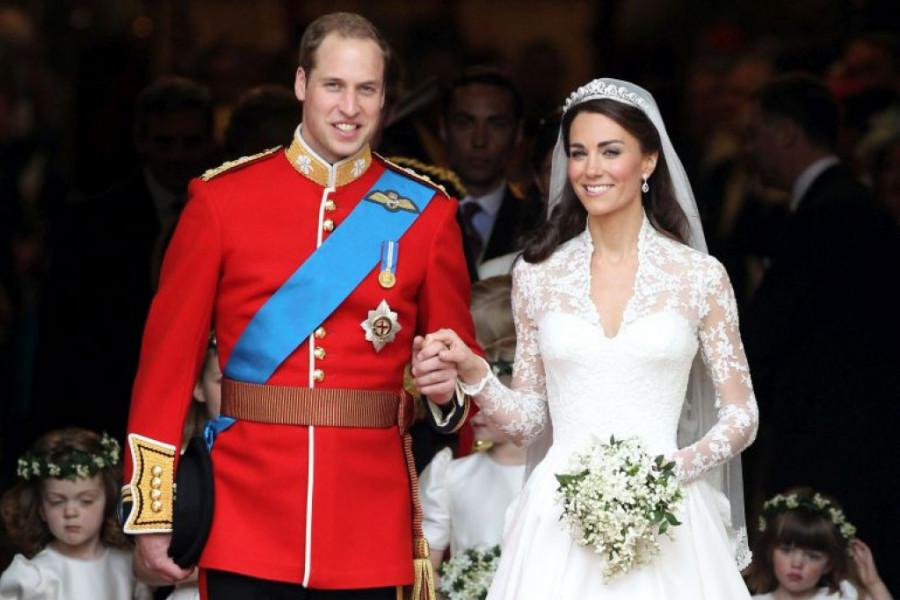 Uprkos pričama da je vara, Vilijam i Kejt proslavili 9 godina braka