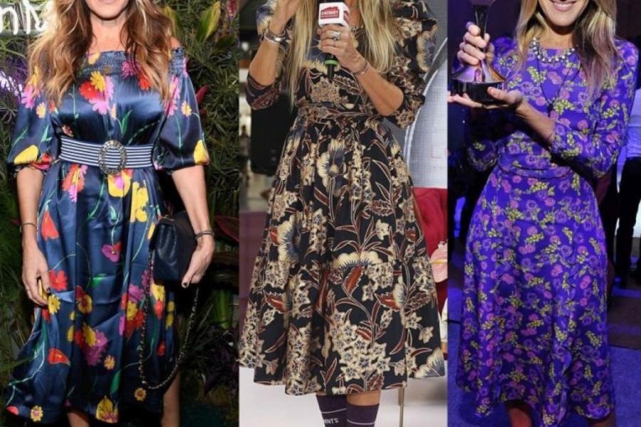 Haljine cvetnog dezena - modni komad koji će oplemeniti vaš stil i garderober