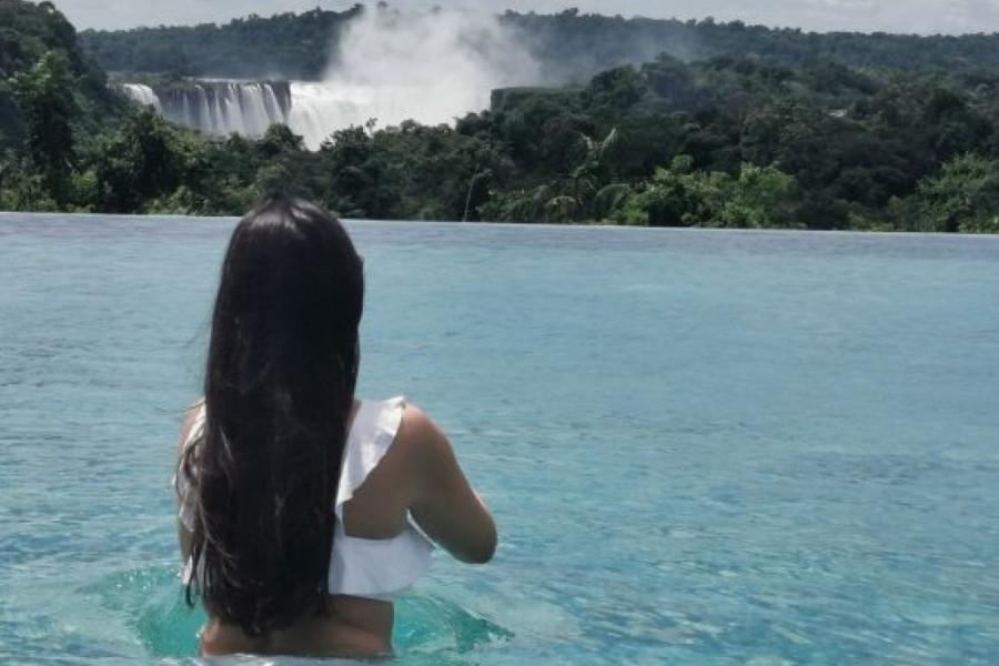 Poznata voditeljka na putovanju života: Pred vodopadima nisam mogla da progovorim! (foto)