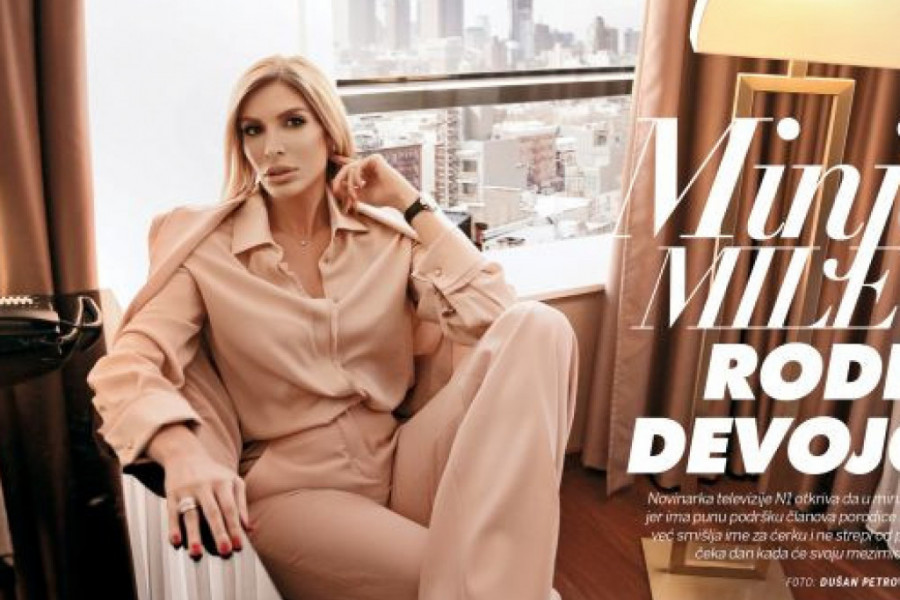 """Minja Miletić za magazin """"STORY"""" otkriva: Rodiću devojčicu!"""