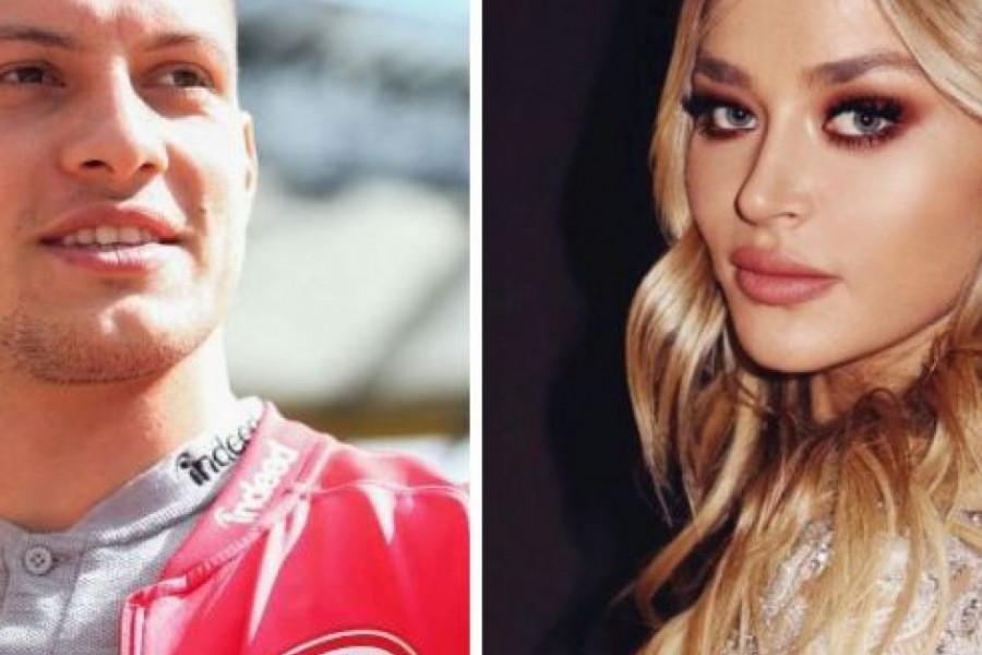 Idiličnu šetnju prekinula neočekivana situacija! Evo šta su Sofija Milošević i Luka Jović doživeli u Rimu (video)