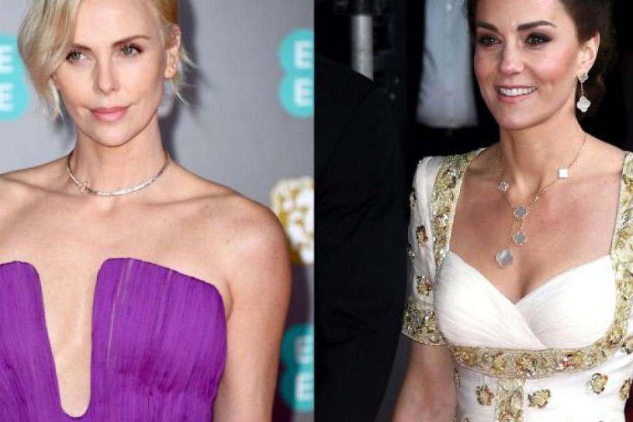Dodela BAFTA nagrada: Šarliz Teron oduševila modnim izdanjem, Kejt Midlton razočarala starom haljinom! (foto)