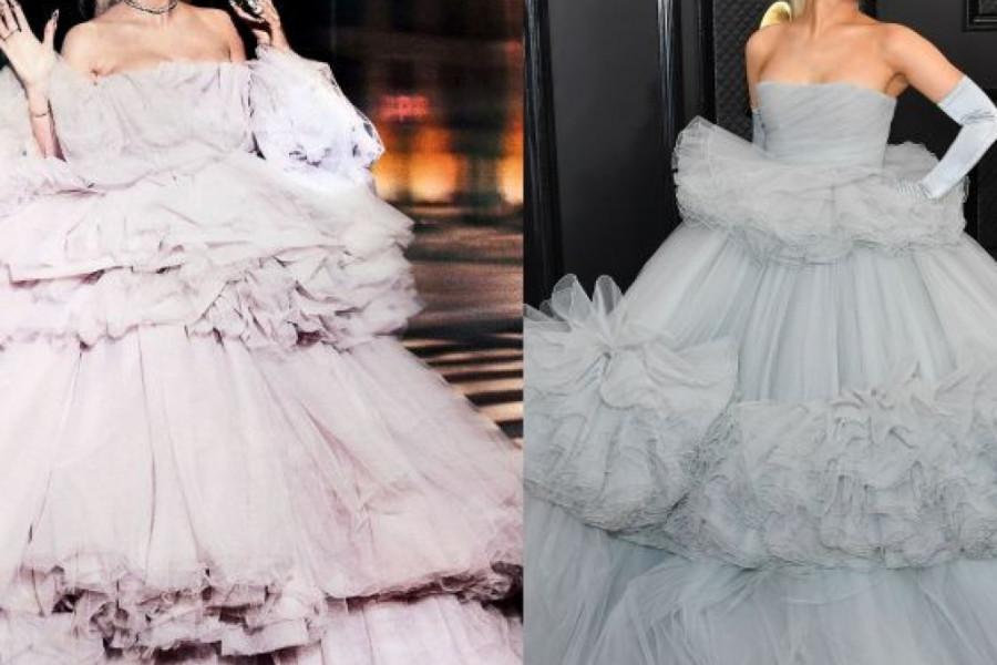 Arijana Grande na Gremiju ponela istu haljinu kao Jelena Karleuša (foto)