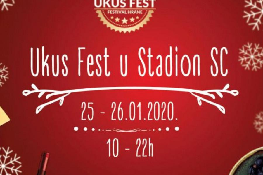 "UKUS FEST u Shopping Centru ""Stadion"" u subotu 25. i u nedelju 26. januara 2020."