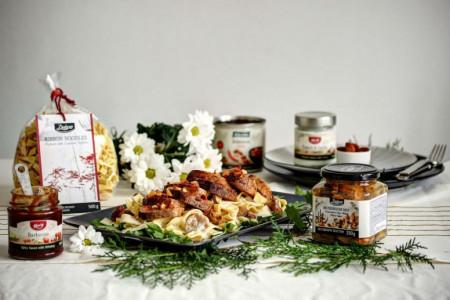 Inspiracija za prazničnu trpezu: Pasta sa šafranom u krem sosu sa svinjskim fileom