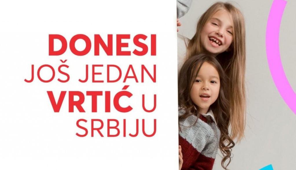 Fondacija Novak Đoković i brend Donesi u zajedničkoj akciji za naše najmlađe