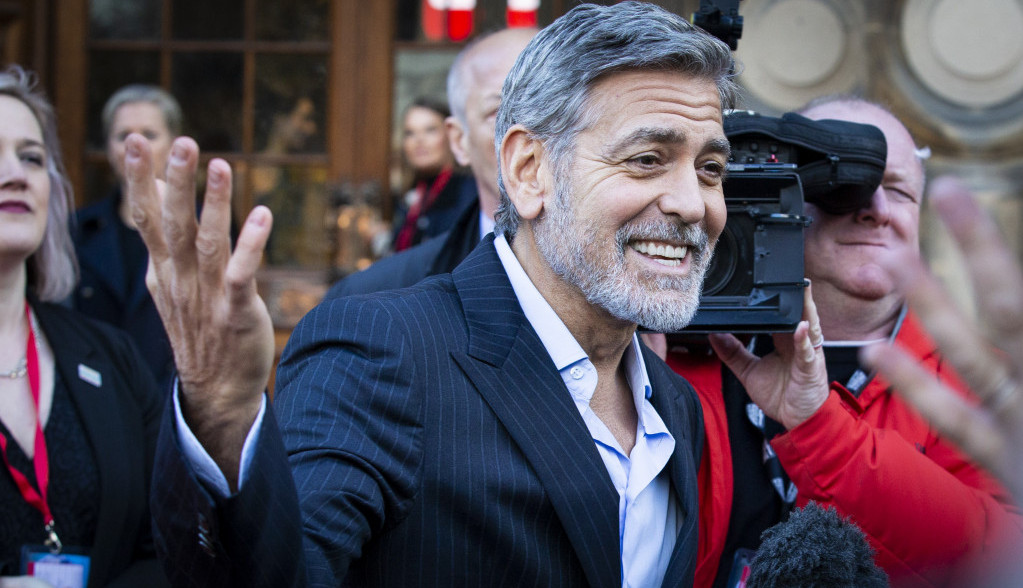 Džordž Kluni hitno hospitalizovan