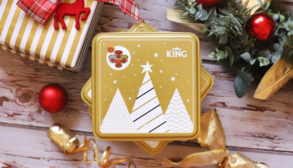 Savršen poklon za novogodišnje praznike Frikom King Gift Box limited edition
