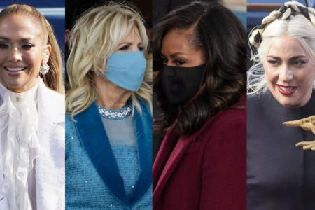 Poznate dame briljirale na inauguraciji: Mišel Obama održala lekciju stila