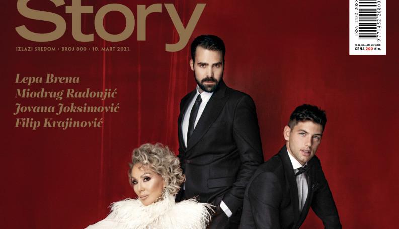 Jubilarni 800. broj magazina Story je u prodaji!