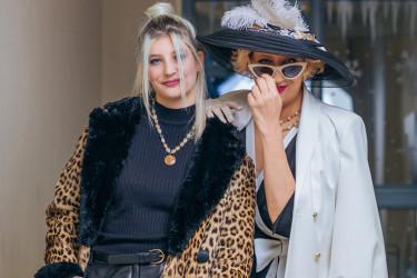 Stopama majke Isidore: Ekstravagantni modni odabir Vile Pajkić - modni izazov za predstojeću jesen (FOTO)