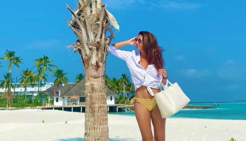 S kim to Sanja Marinković letuje na Maldivima? (foto)