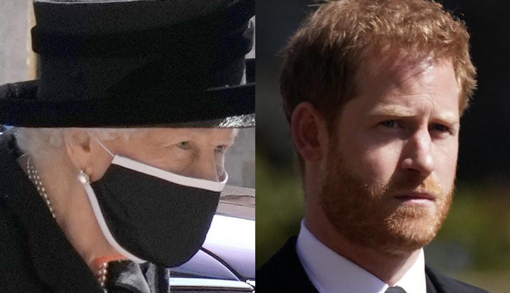 SVI DETALJI: Sahranjen princ Filip, kraljica SKRHANA BOLOM, odbegli princ Hari NIJE RAZGOVARAO SA BRATOM (FOTO)