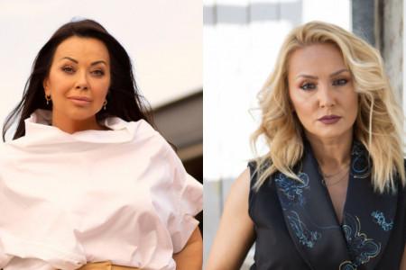 Dve žene jedna haljina: Goca Tržan i Dragana Katić šokirale istim stajlingom
