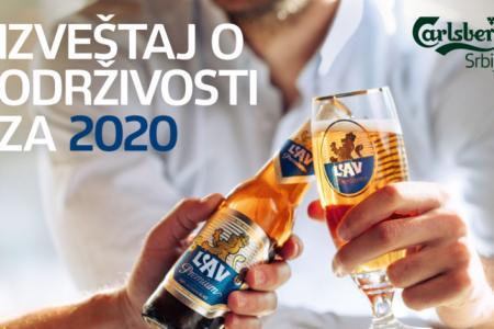 """Kompanija Carlsberg Srbija objavila Lokalni izveštaj o održivosti: Strategijom """"Zajedno ka nuli"""" za bolje sutra"""