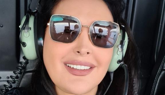 Ovako živi pravi džet-set: Dragana Mirković helikopterom sletela u Sen Trope! A tek da vidite haljinu! (FOTO)