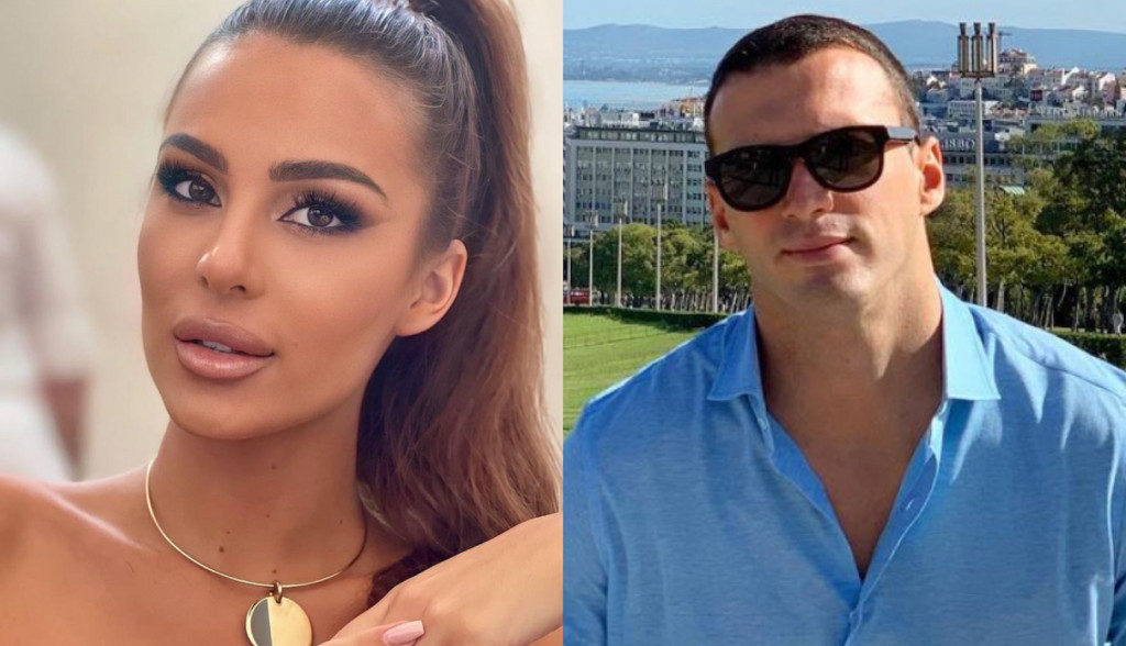 EKSKLUZIVNE FOTOGRAFIJE: Đorđe Kuljić i Anastasija Ražnatović na ludoj zabavi, ona na stolu, on je drži oko struka