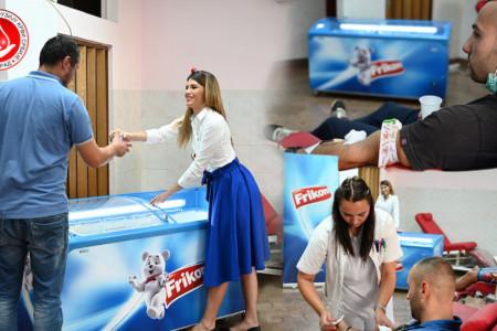 Kompanija Frikom i Institut za transfuziju krvi Srbije - neodoljivo osveženje za sve donatore krvi