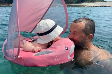 Kakva ljubav! Zbog ćerkice Ivan Ivanović postao potpuno drugi čovek (FOTO)