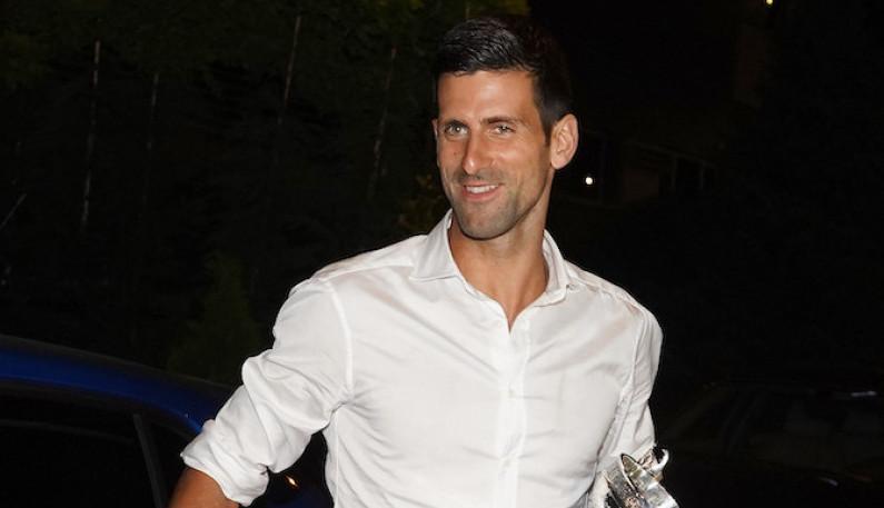 Novak se provodio na nastupu Dina Merlina sa OVOM pevačicom (FOTO)