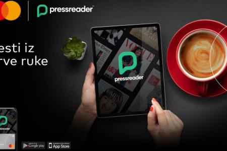 Novi nivo premijum pogodnosti – na vašem dlanu: Nove usluge PressReader i Digital Bodygard za Mastercard Premium korisnike