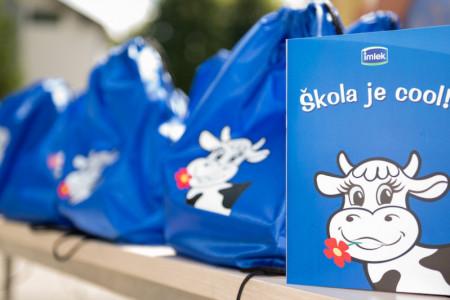 Donacija kompanije Imlek povodom povratka u školske klupe: Moja Kravica i ove godine obradovala najmlađe školarce