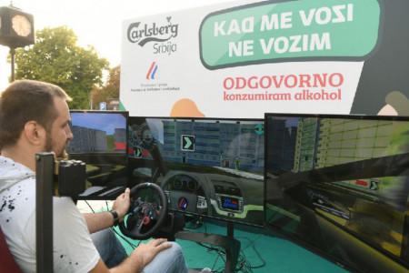 Edukativne aktivnosti kompanije Carlsberg Srbija i Agencije za bezbednost saobraćaja Republike Srbije: RECI NE VOŽNJI POD DEJSTVOM ALKOHOLA