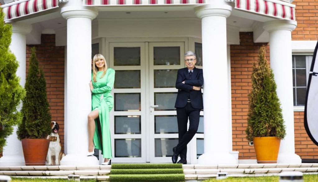 Luksuzna vila na Bežanijskoj kosi: Zavirite u topli dom Saše Popovića i Suzane Jovanović (FOTO)