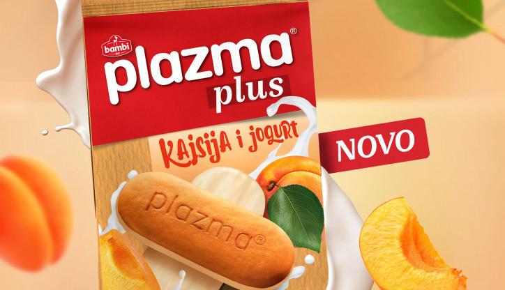 PLAZMA PLUS NOVI UKUS - Probajte osvežavajuću kombinaciju kajsije i jogurta