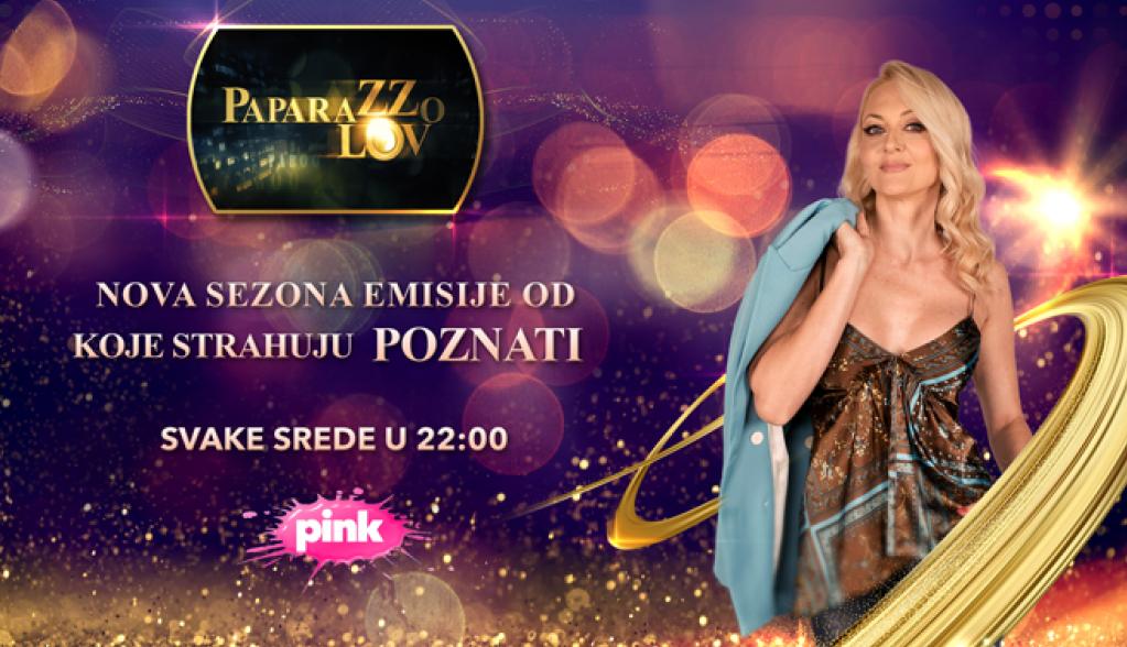 """EMISIJA OD KOJE STRAHUJU POZNATI SE VRAĆA NA TV PINK: Nova sezona """"Paparazzo lova"""" donosi ekskluzivne priče i velika iznenađenja!"""