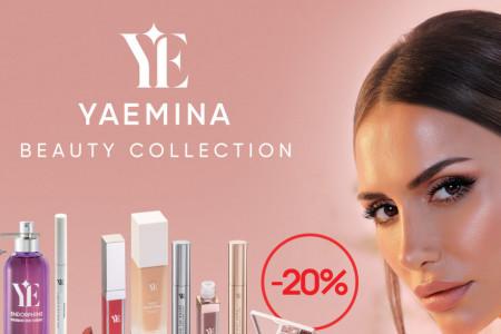 Yaemina Beauty – gde god da si ti: Cela kolekcija kozmetike Emine Jahović dostupna je online na Shoppster.com!