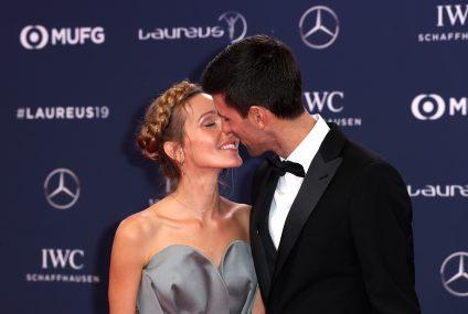 Novak Đoković četvrti put proglašen za najboljeg SPORTISTU GODINE! (foto/video)