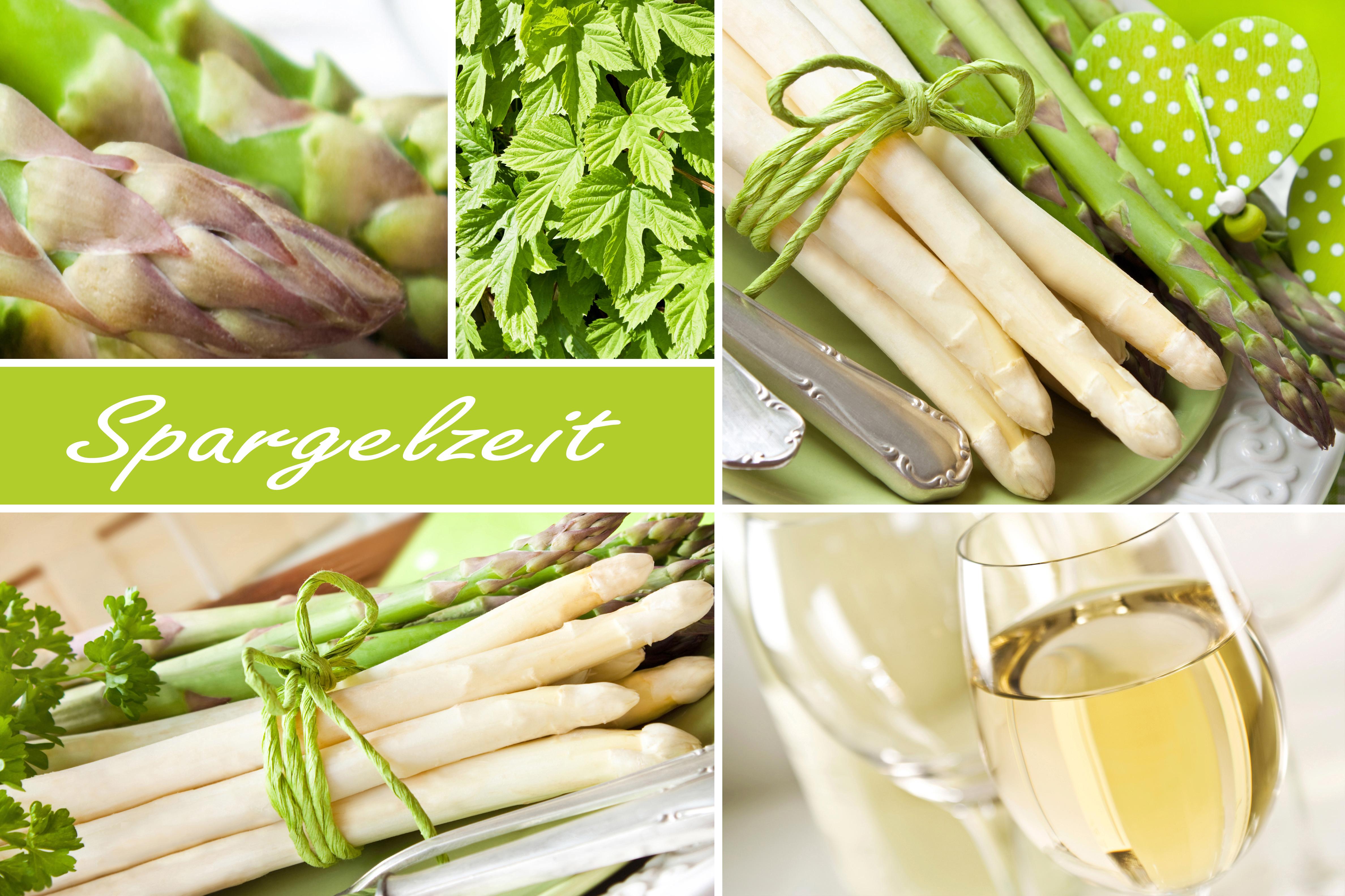 Asparagus Season collage