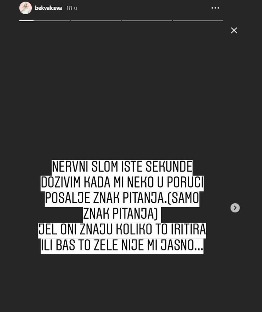 Nataša Bekvalac Instagram