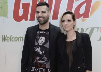 Milena Vučić trudna