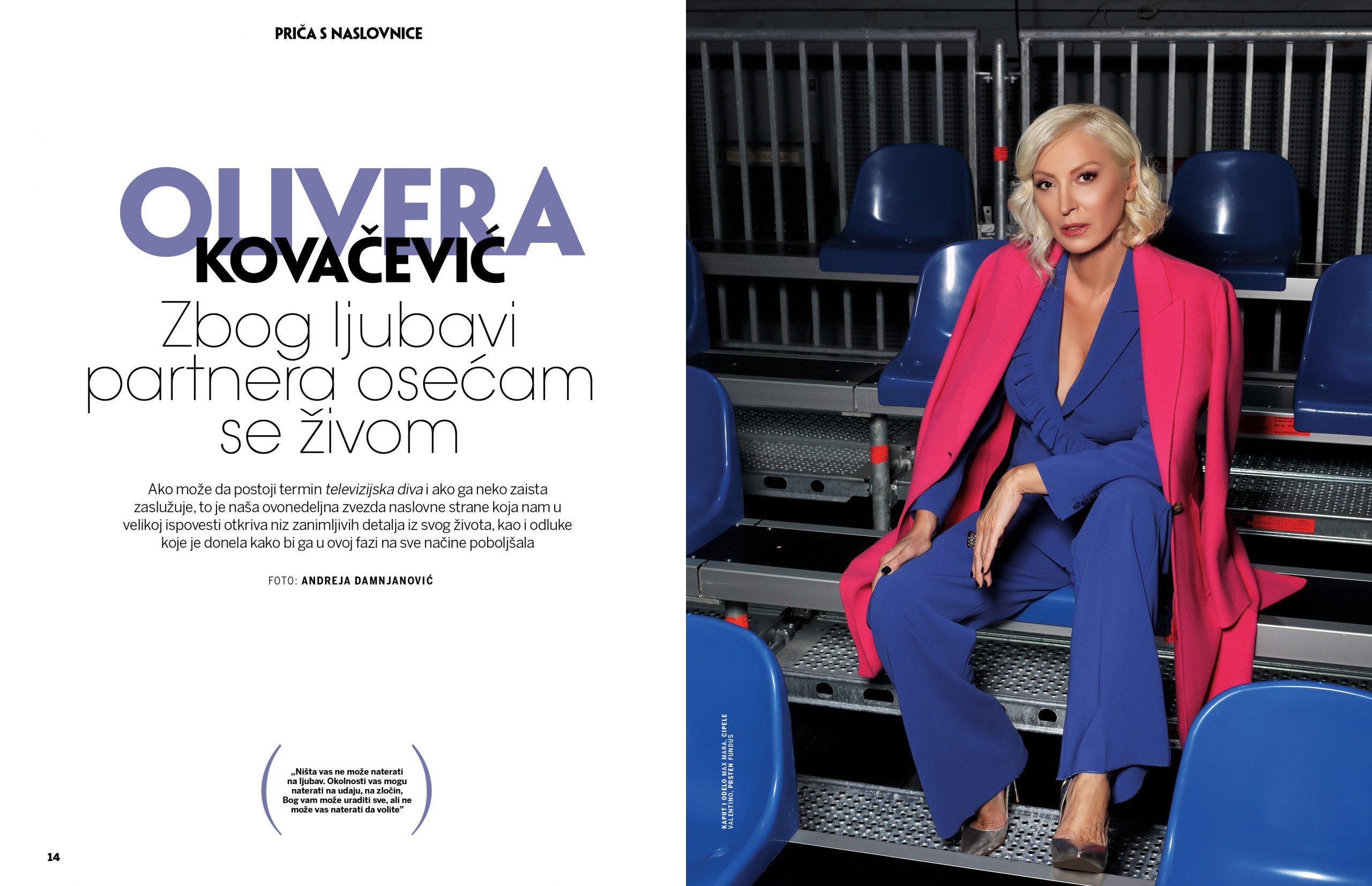 Olivera Kovačević udaja